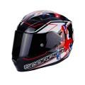 Шлем SCORPION EXO-1200 AIR Alto, цвет Черный/Белый/Красный, Размер XL