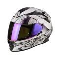 Шлем SCORPION EXO-510 AIR ARABESC, цвет Белый Хамелеон, Размер M