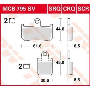 Колодки передние - R1 07-
