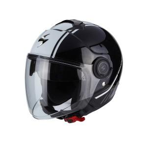 Шлем SCORPION CITY AVENUE, цвет Черный/Белый, Размер M