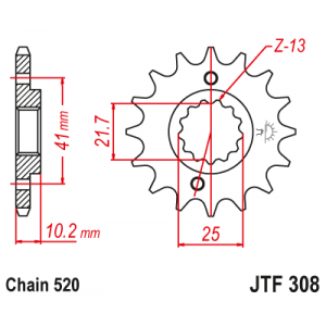 JTF 308.15 Звезда