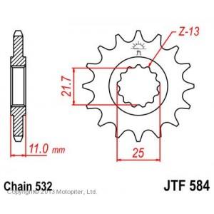 JTF 584.17 Звезда
