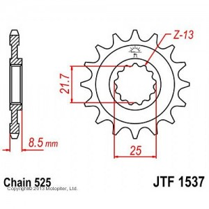 JTF 1537.16 Звезда