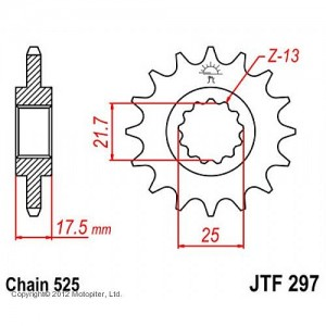 JTF 297.15 Звезда