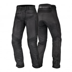 Штаны текстильные SHIMA NOMADE black p.XS