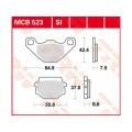 Колодки задние - Dinli ATV 700D/700GT/800D (F140239-00)