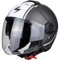 Шлем SCORPION CITY AVENUE, цвет Серый Матовый/Белый Матовый, Размер XL