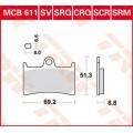 Колодки передние - XJR1300/R1 04-06