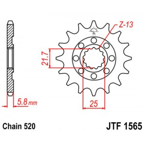 JTF 1565.13SC Звезда