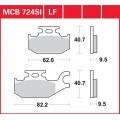 Колодки передние прав - Suzuki LT 750 (лев MCB723)