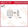 Колодки передние - RSV 1000 01-,Benelli: 756 07-, 899 11-, 900 03-,Bimoto