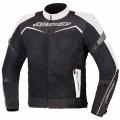 Текстильная куртка AGVSPORT Testilo черно-белая р.М
