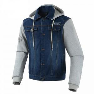 Текстильная куртка серая р.XL