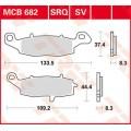 Колодки передние прав - GSF600 00-04