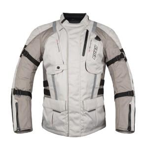 Мотокуртка LONG RIDE текстиль, цвет Серый/Бежевый, Размер M