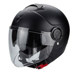 Шлем SCORPION CITY, цвет Черный Матовый Размер S