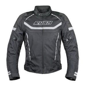 Мотокуртка RUSH WALTER текстиль, цвет Черный/Серый, Размер L