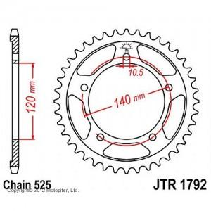 JTR 1792.43 Звезда