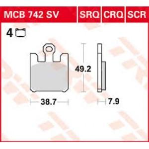 Колодки передние - ZX10R