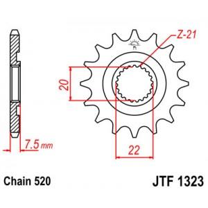 JTF 1323.13SC Звезда