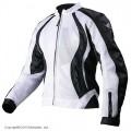 Текстильная куртка женская AGVSPORT XENA белая p.S