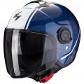 Мотошлем CITY AVENUE, цвет Синий/Белый, Размер S