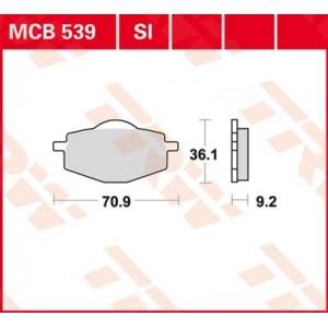 Колодки передние - YBR125 -06