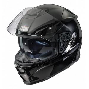 Шлем IXS HX 315 черный глянец р.L