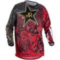 Джерси Motocross RR black red p.XS
