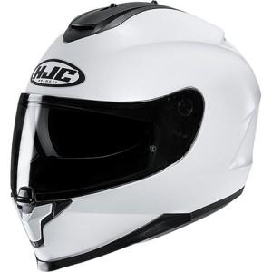 Шлем HJC C 70 PEARL WHITE p.L