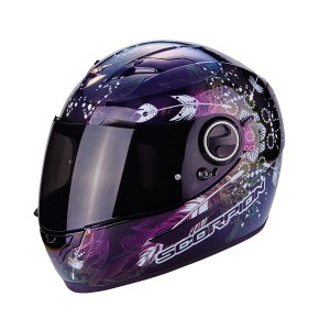 Шлем SCORPION EXO-490 DREAM, цвет Черный Хамелеон, Размер XS