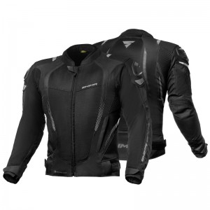 Текстильная куртка SHIMA MESH PRO BLACK р.XXL