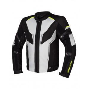 Текстильная куртка REBELHORN Blast gray black fluo yellow р.L