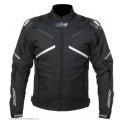Текстильная куртка AGVSPORT Jet черная p.M