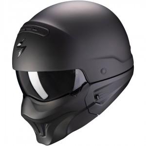Мотошлем COMBAT EVO SOLID, цвет Черный Матовый, Размер M