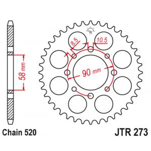 JTF 273.45 Звезда