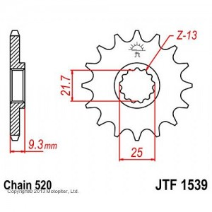JTF 1539.14 Звезда