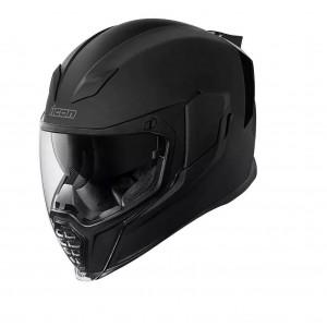 Шлем Icon Airflite Rubatone черный p.XL