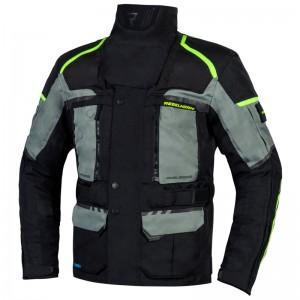 Текстильная куртка REBELHORN CUBBY IV gray black fluo yellow p.XL