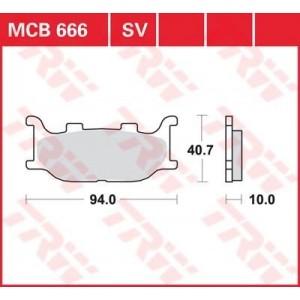 Колодки передние - FZ6 04-09