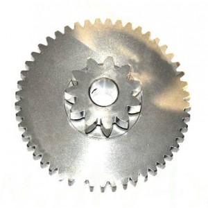 Шестерня стартера сдвоенная (11/49T), сталь Stels ATV Guepard, Dominator, Росомаха,Викинг