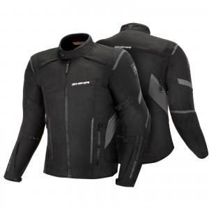Текстильная куртка SHIMA RUSH MEN BLACK p.XXL