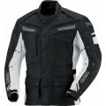 Текстильная куртка IXS Evans черно белая р.S