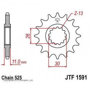JTF 1591.16 Звезда